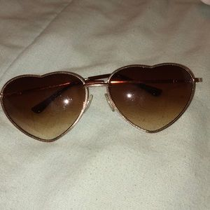 Forever 21 Accessories - Heart Sunglasses
